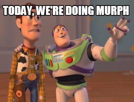 Woody und Buzz Lightyear machen ein Murph Meme