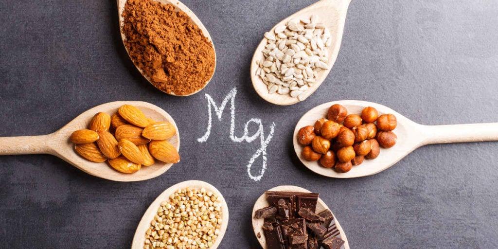 verschiedene Magnesiumquellen